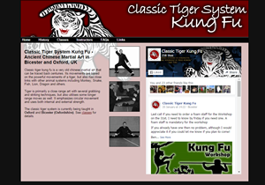 Classic Tiger Kung Fu